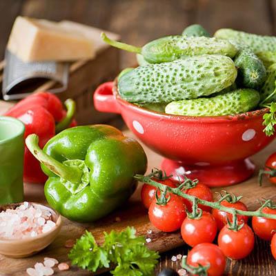 obst und gemüse für Gastronomie